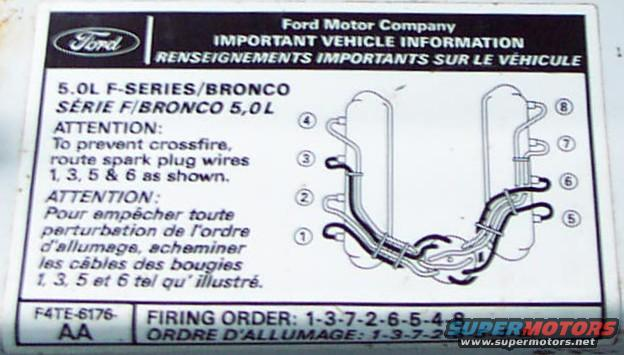 Znacenje Svjetlosnih Simbola Na Instrument Ploci furthermore 2005 Ford Ranger 3 0 Liter Spark Plug Wiring together with 93 Ford Bronco 5 0 Engine Diagram besides Engine furthermore Six Cylinder Engine Diagram. on 93 mustang firing order