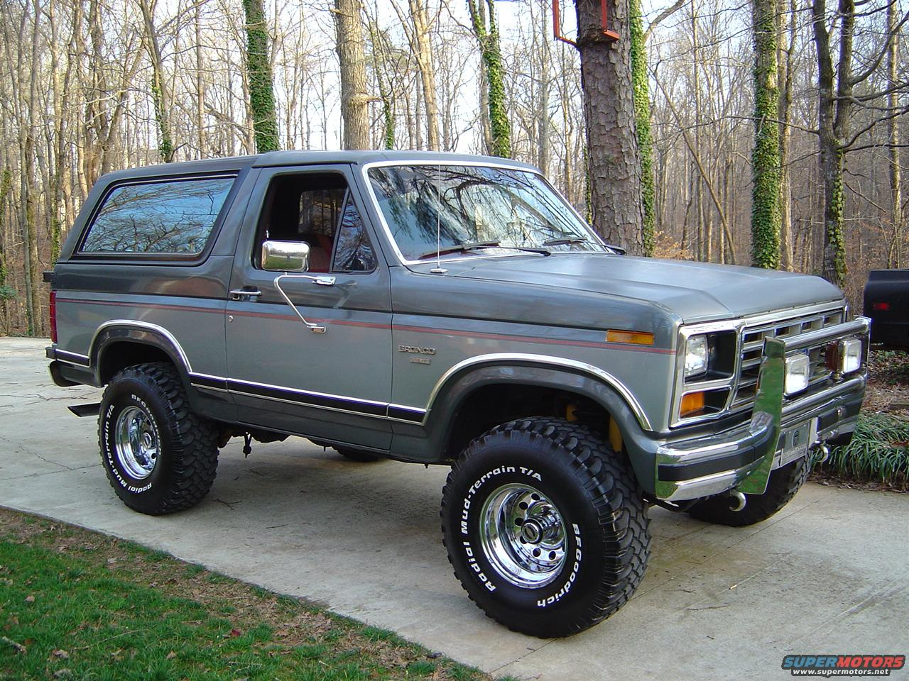 Calling All 86 Ers Ford Bronco Forum