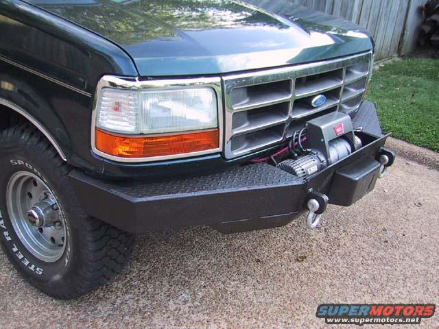 Custom bumper? - Ford Truck Enthusiasts Forums