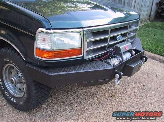 F250 Bumper Blueprints : Custom bumper ford truck enthusiasts forums