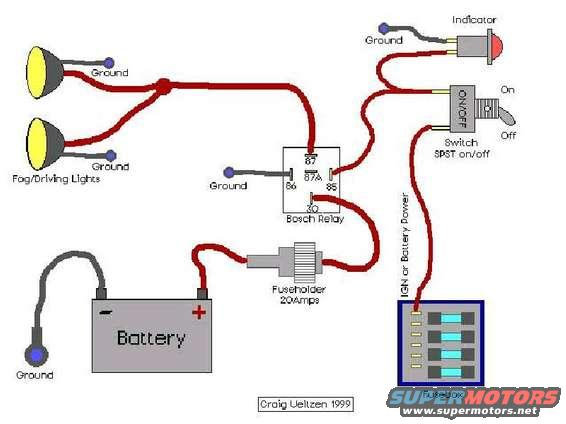 Accessory Wiring Questions Ford Bronco Forum – Switchboard Wiring Diagram