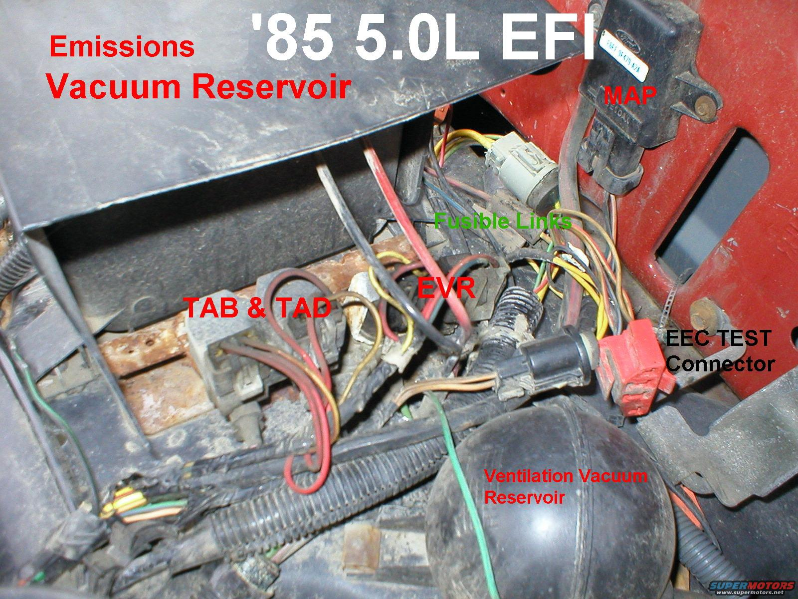 Locating Map Sensor 86 F150 Ford Truck Enthusiasts Forums