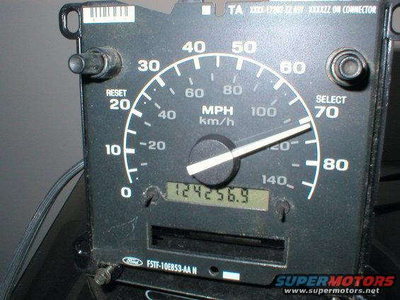 1995 F 150 Speedometer Ford Truck Enthusiasts Forums