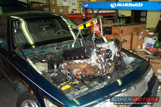 Engine Removal Tactics | 4 6L Based Powertrains | Crownvic net