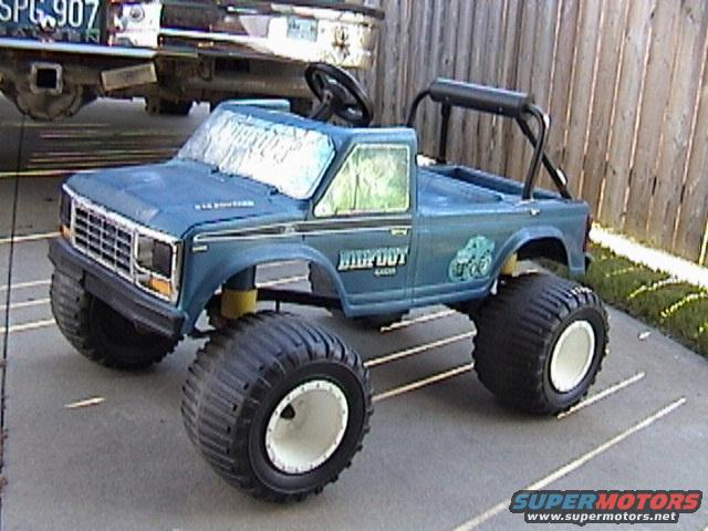 Jeep Liberty Truck Conversion >> Our Powerwheels Bigfoot - Ford Bronco Forum